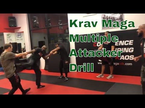 Krav Maga CDK Multiple Attacker Drill
