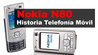 Nokia N80, anunciado en 2005 | Historia Telefonía Móvil