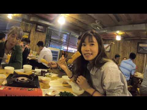 Vietnamese Social Eating Horse Hotpot With Japanese Film Crew