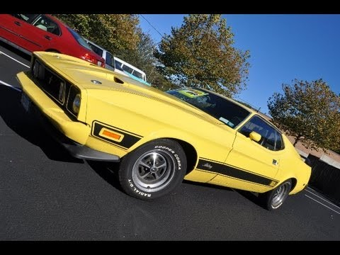 1973 Mustang Mach 1 Q Code Youtube
