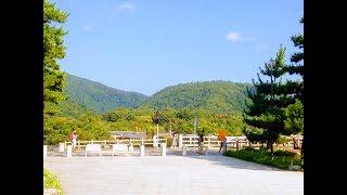 夏の京都嵐山 渡月橋の朝 梅雨明け☆ Kyoto Arashiyama Togetukyo