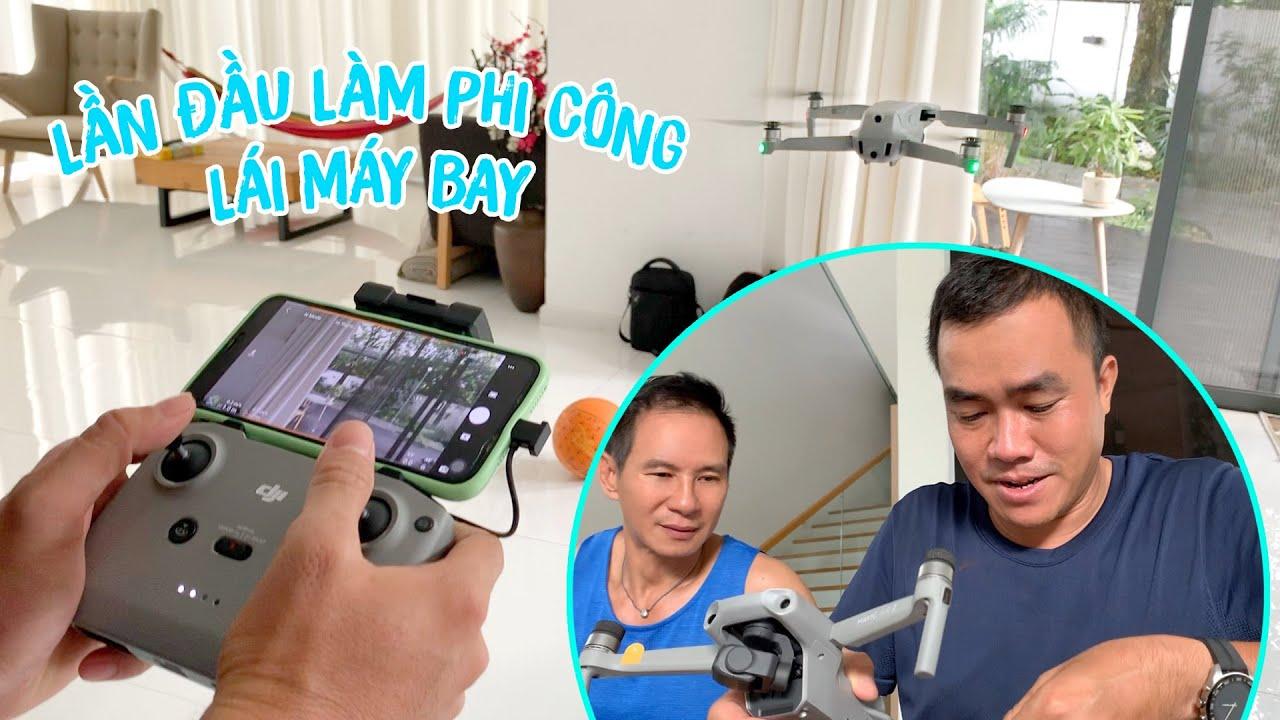 Thử một lần làm phi công lái Flycam cùng Lý Hải Minh Hà
