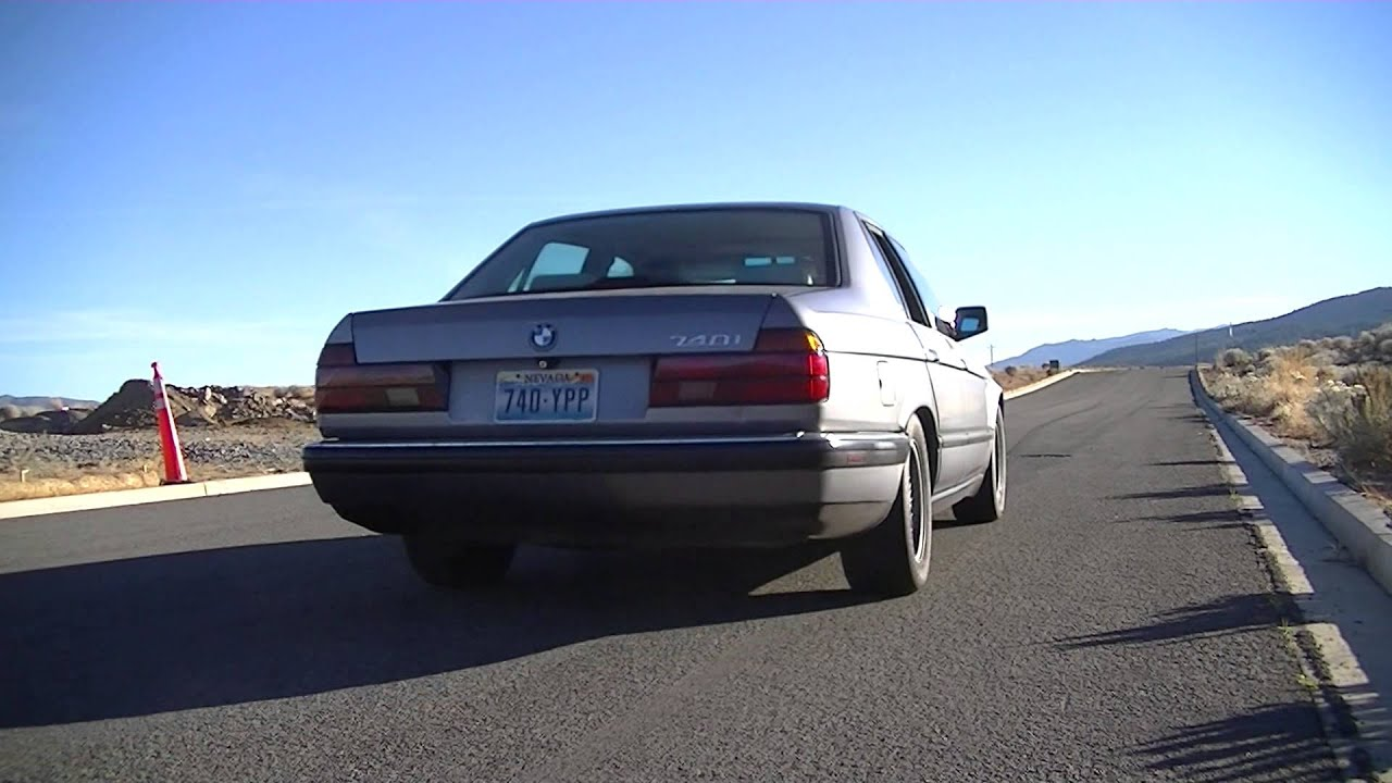 1993 Bmw 740i E32 Modified Exhaust And Performance Chip M60 V8