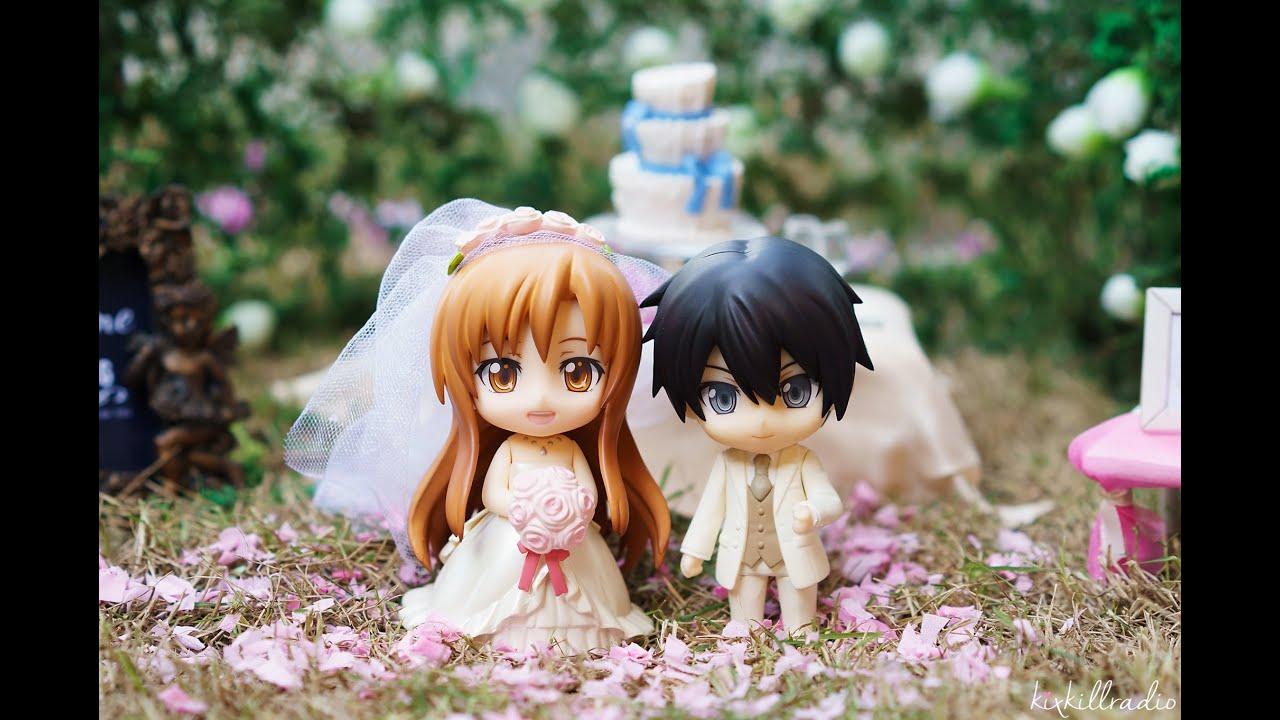 Nendoroid More Dress Up Wedding Asuna X Kirito Photography You