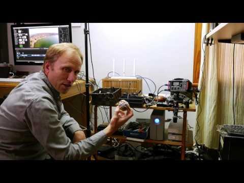 Photorec TV Studio/Office Tour- What a Mess (corrected audio)