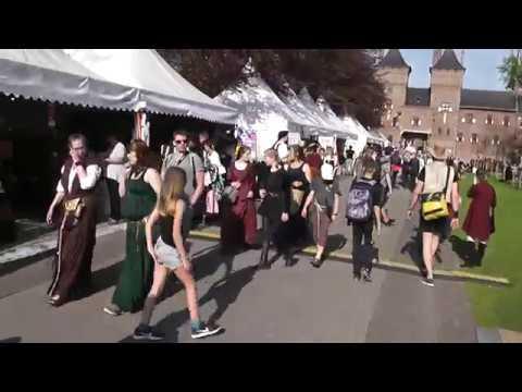 Elfia 2018 - Loop video van Entrance via Fantasy Avenue omlopen