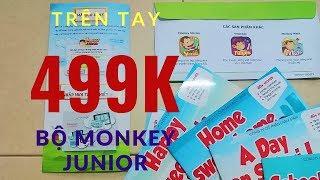 Mở Hộp Bộ Tiếng Anh Cho Trẻ Em Monkey Junior I Hôm Nay Có Gì Hot
