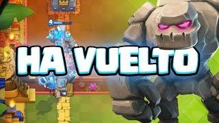 EL GOLEM ESTÁ DE VUELTA. Destrozando la Arena | Clash Royale