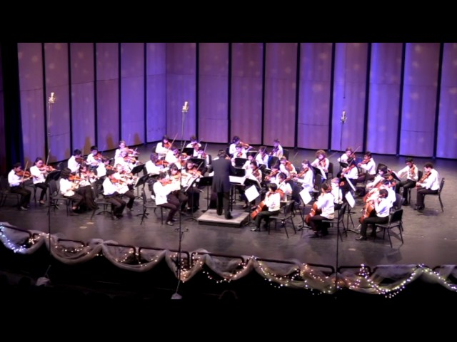 "04 Holmes Intermediate Orchestra Finale Serenade No  9 ""Posthorn"" Mozart"