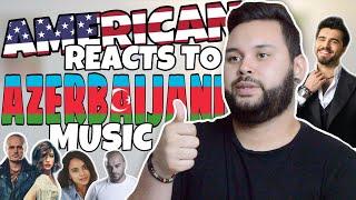 American REACTS // Azerbaijani Music