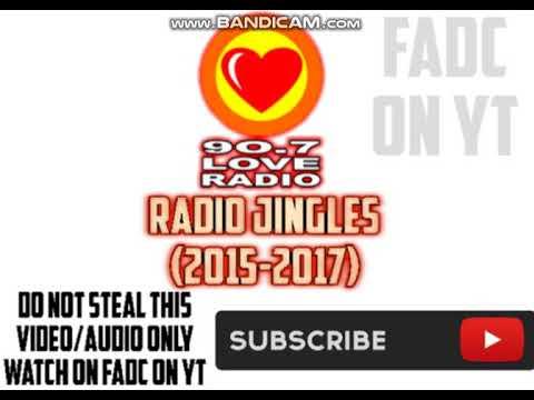 90.7 LOVE RADIO JINGLE/PLUGS/ETC. (2015/2017)