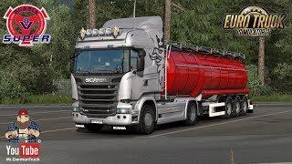 [ETS2 v1.35] Loud V8 Engine Sounds for Scania R & Streamline
