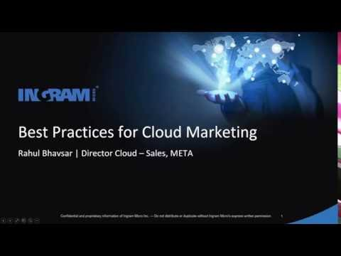 Webinar - Understand Best Marketing practices for Your Cloud Business