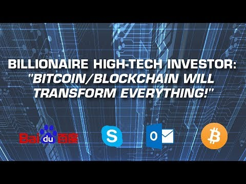 Tech Billionaire Guru: Bitcoin/Blockchain Biggest Opportunity of my Career!