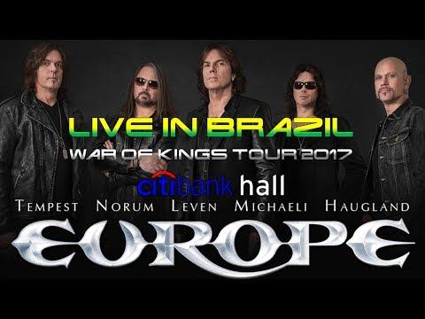 EUROPE -  live @ Citibank Hall, São Paulo, Brazil multicam [unique on youtube]