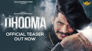 Gulzaar Chhaniwala - Dhooma | Teaser | Releasing on 15 January 2021