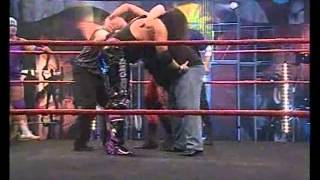 PJ Black, Dameon Duke, Tornado and Skull VS Joe E Legend, Ares, Fury and Jacques Roque - WWP (2008)
