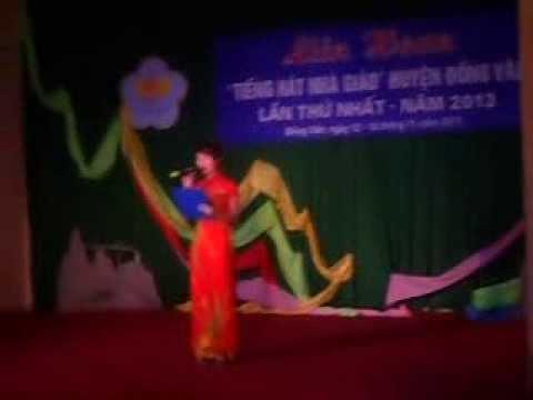 """Hát múa """"Tự hào nhà giáo Việt Nam"""" - Hoàng Hằng và tốp ca"""