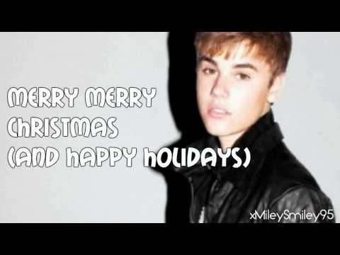 Justin Bieber - Christmas Love (lyrics)