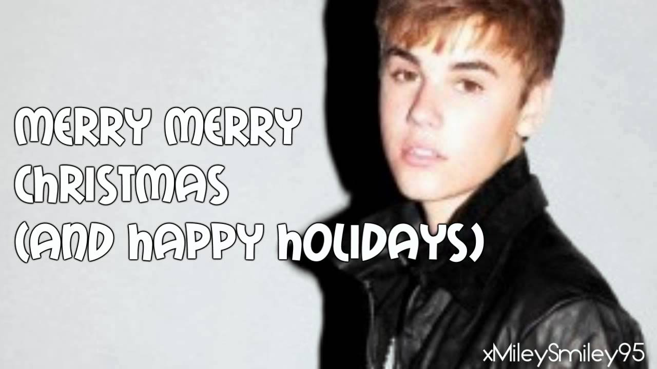 Justin Bieber - Christmas Love (lyrics)
