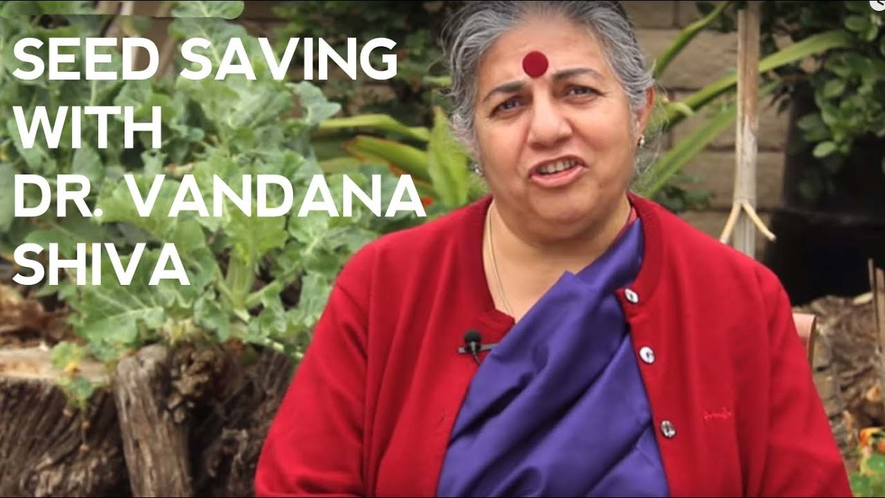 Saving Seeds at Home with Vandana Shiva