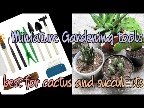 Miniature Gardening tools unboxing plus feedback/review