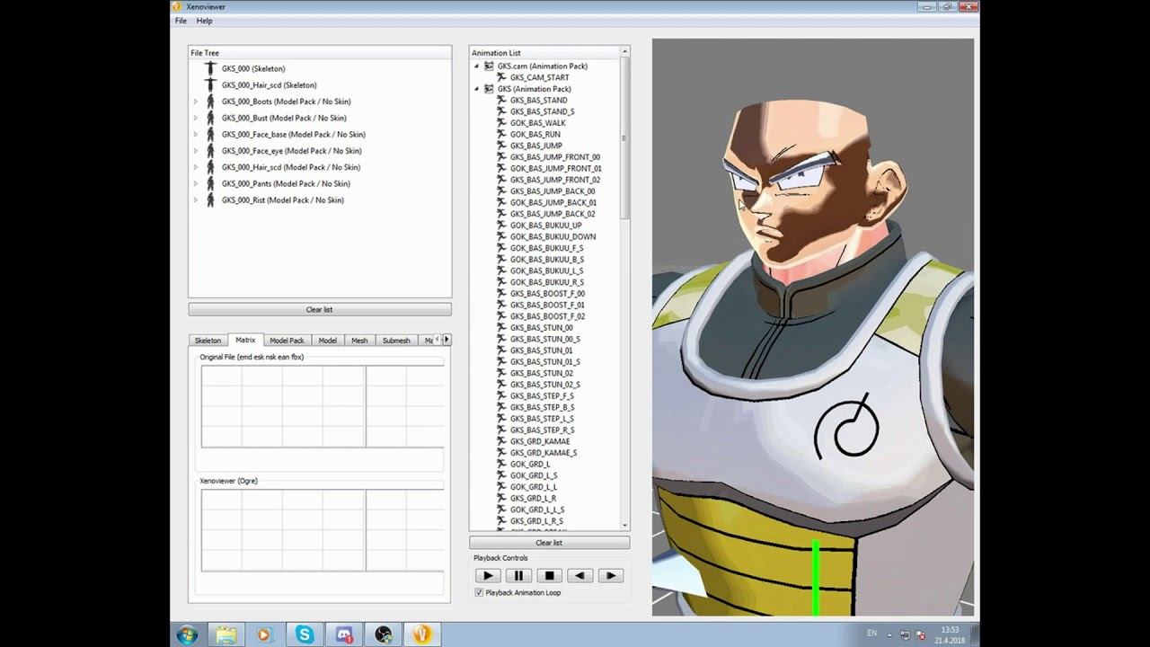 Dragon Ball Xenoverse 2 How to make mods by changing Models