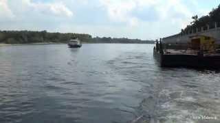 Прогулка на теплоходе по реке Сож на ПТ 01 Boat trip. Day off. Teplokhod PT 01(, 2015-04-08T11:50:18.000Z)