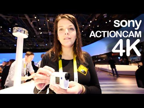 Sony ActionCam 4K preview CES en espa�ol