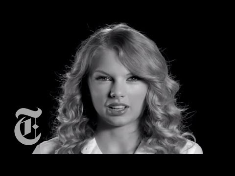 Taylor Swift Interview   Screen Test   The New York Times