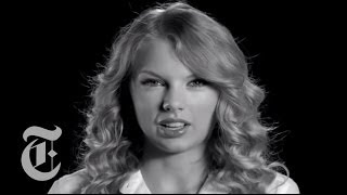 Taylor Swift Interview | Screen Test | The New York Times