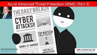 Gambar cover Azure Advanced Threat Protection (ATP) Part 2 Demo