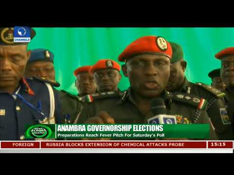 Preparations Reach Fever Pitch For Anambra Poll | News Across Nigeria |