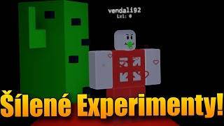 CRAZY EXPERIMENTS with MOCK-up! 😱🔥 Roblox Lab Experiment w/Makousek
