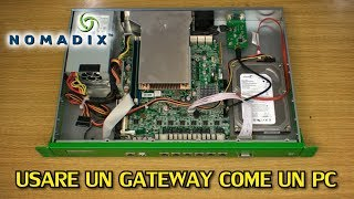 Trasformo un gateway in un PC - Nomadix AG5800