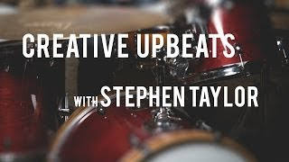 DRUM LESSON - Creative Upbeats with Stephen Taylor