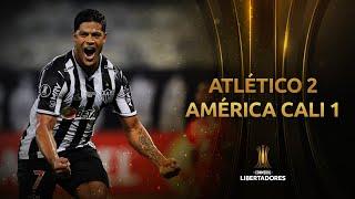 Atlético Mineiro vs. América de Cali [2-1]   RESUMEN   Fecha 2   CONMEBOL Libertadores 2021