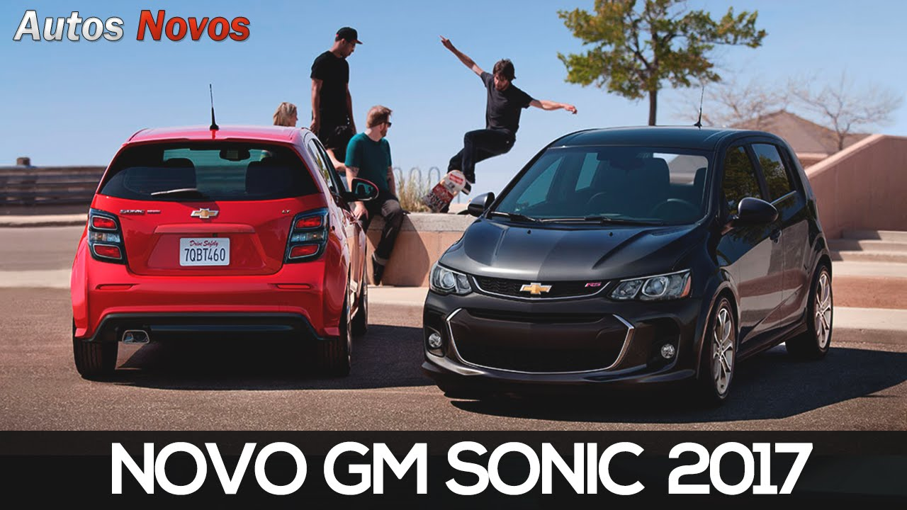 Novo Chevrolet Sonic Autos Novos Youtube