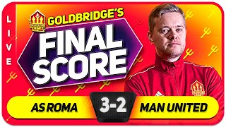 GOLDBRIDGE! Roma (5) 3-2 (8) Manchester United Europa League Final Match Reaction