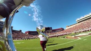 FSU Marching Chiefs Pregame From Tubas Perspective