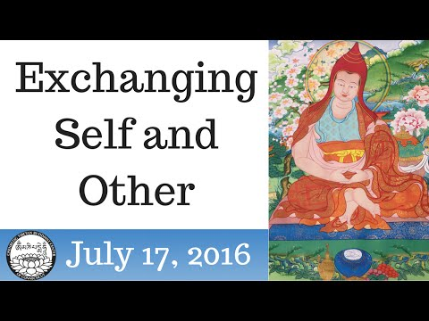 Exchanging Self and Other, July 17 2016