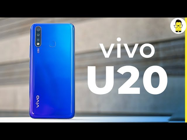 vivo U20 unboxing and hands-on: SD675 at Rs 10,990!