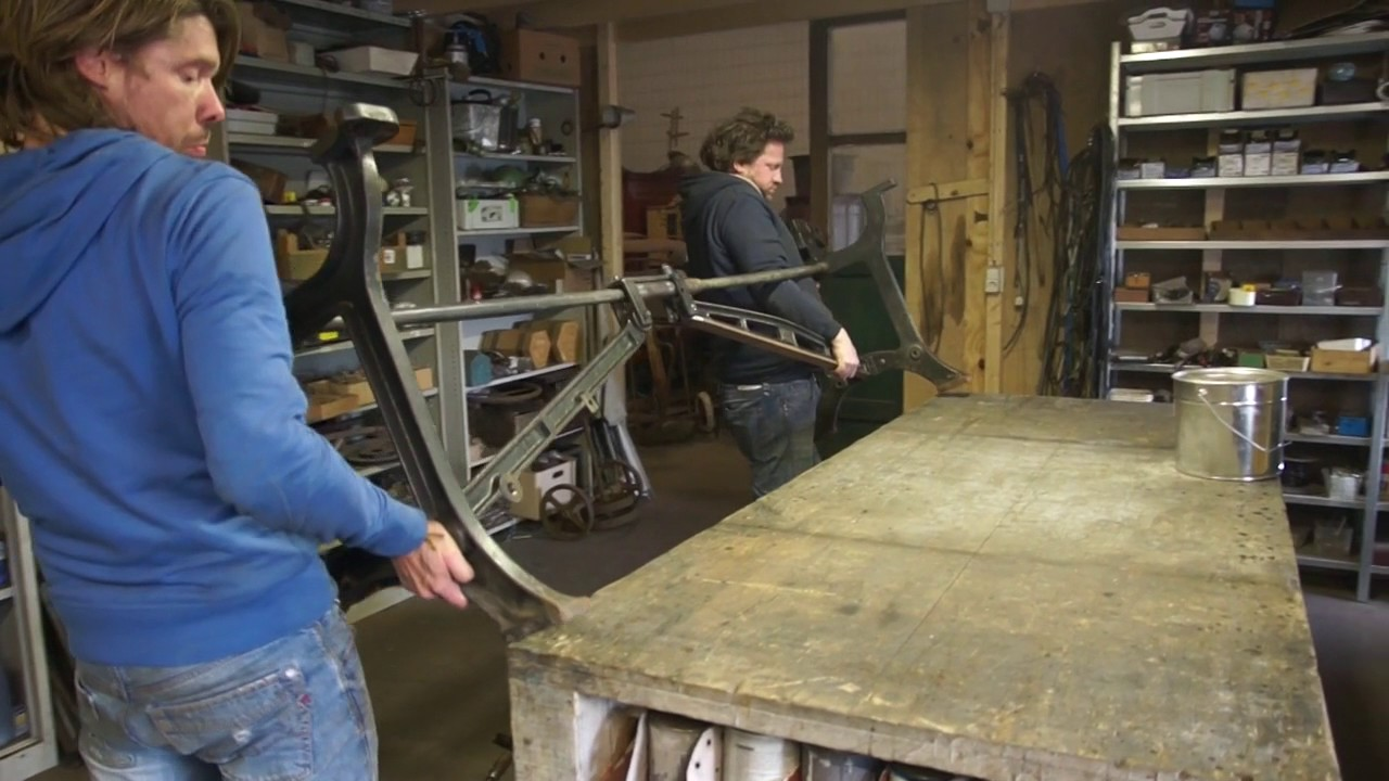 The workshop | Vivre Interieur Authentique - YouTube