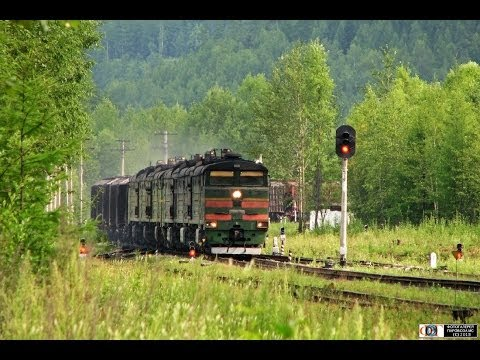 "БАМ-2007. Часть 5 / ""BAM-2007"" Part 5. Railway Travel (RZD, Tynda, Urgal, Soloni)"