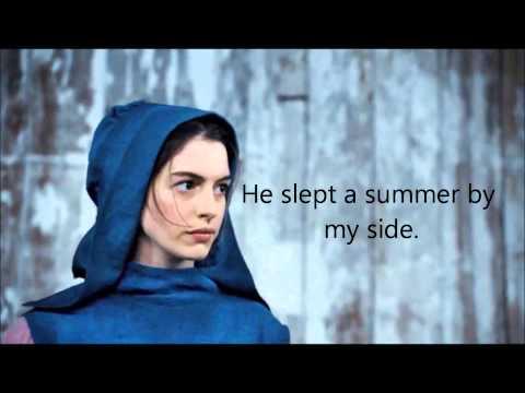 I Dreamed A Dream (Anne Hathaway: Lyrics on screen!)
