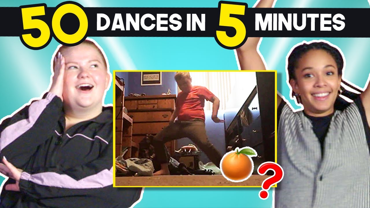 Professional Dancers Try 50 Dance Moves In 5 Minutes Challenge