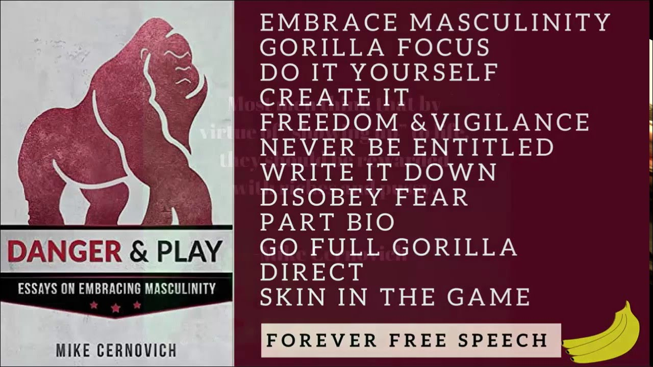 mike cernovich danger and play essays on embracing masculinity mike cernovich danger and play essays on embracing masculinity book review