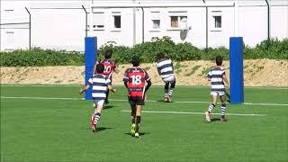 Rugby sub-16. Grupo desportivo Direito - Escolinha da Galiza