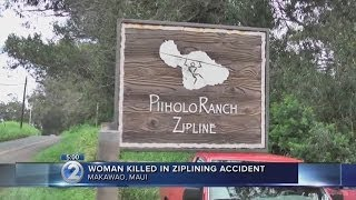 Maui woman dies after falling 150 ft. in zipline accident