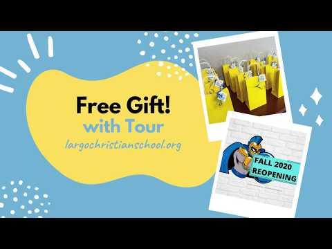 Largo Christian School - Book a Tour